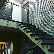 Стеклянные ограждения для лестниц Минск