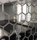 Мозаика зеркальная соты шестигранник Минск
