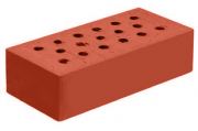 Строительный полнотелый рядовой кирпич 250х120х65 М200 F100 Брест
