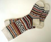Теплые вязаные носки Могилев