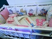 Бортики в кроватку для девочки Могилев