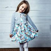 Хлопковое детское платье на девочку Рост 104, 110, 116, 122, 128 см Минск