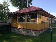 Мягкие окна (шторы) для беседки (веранды). Минск
