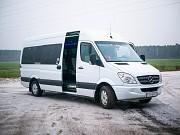 Услуги пассажирских перевозок. Доставка рабочих.17-19 мест +375297019472 Минск
