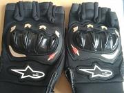 мото перчатки alpinestars беспалые текстиль Минск