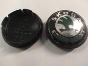 Колпачок Шкода на литой диск 56 мм Минск