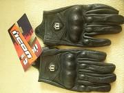 Перчатки для мотоциклистов icon Pursuit со вставками Минск