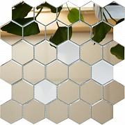 Зеркальная мозаика соты Минск