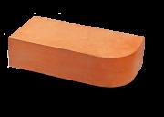 Кирпич М-200 полнотелый одинарный закругленный Брест