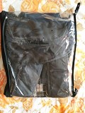 Рюкзак-кенгуру черно-белого цвета, классика Брест