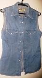 Рубашка джинсовая, р.44-46, в отличном состоянии, б.у Брест