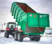 Щеповоз-тракторный самосвальный , объем кузова 21 м.куб (собственное производство) Бобруйск