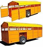 Полуприцеп для перевозки скота (КРС) ТПС-6 (собственное производство) Бобруйск