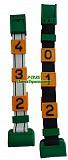 Номерной блок для ремней (от 0 до 9 желтый) КРС Гродно