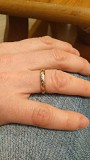 Кольцо золотое с бриллиантиками Брест