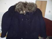 Продаётся зимнее пальто с меховым воротником Минск