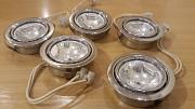 Плафоны врезные точечные для галогеновых лампочек 5 шт. Минск