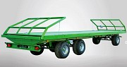 Прицеп тракторный - рулоновоз (3-х осный; г/п 11 тонн, поворотный круг) Минск